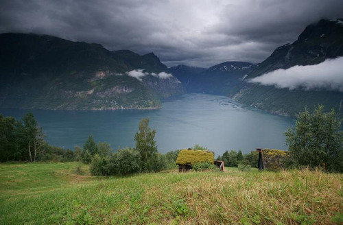 nordravn:  Geirangerfjord, Norway by Kenny Muir on Flickr.