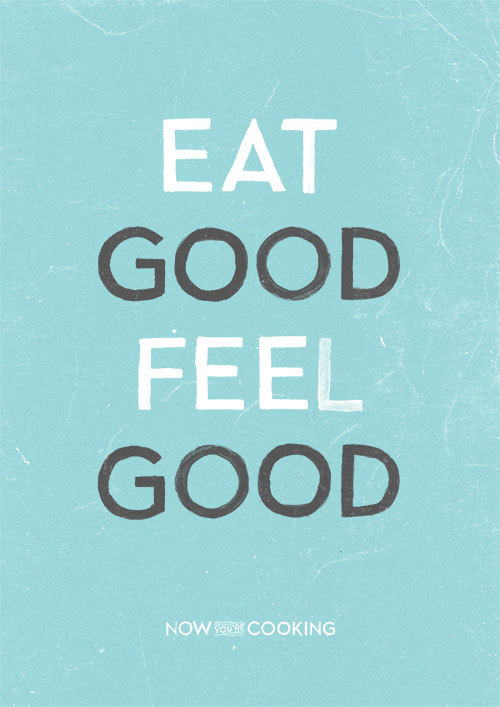 ocfitness:  healthwaves:  This is so accurate. When I eat good, I feel good. When I eat like crap, I feel like crap!  a health and fitness blog run by a personal trainer.