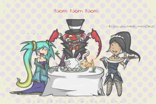 dwaixryz:  Nom Nom Nom by ~Chofy87 Death to Teemo >:D