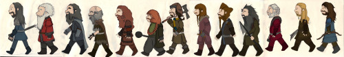 Dwarves in colour.