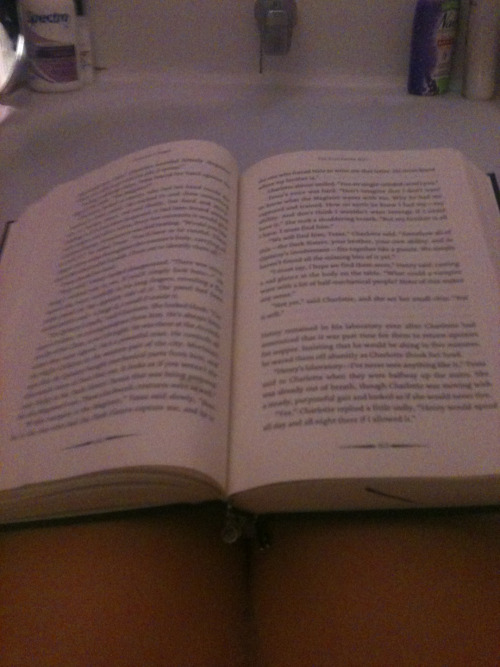 bubble bath and a good book <3