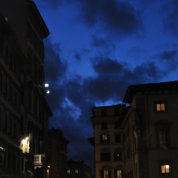 Night Skies in Florence @ www.facebook.com/banipritk - #sky #love #florence #beautiful #europebliss #amazing #italy #night #clouds #nature #nofilter #artistdaily #instagood