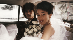 pat cleveland and paul van ravenstein on their wedding day