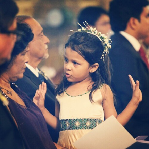 Ready to #Fly. #little #flower #girl #wedding #margao #goa #church #bored