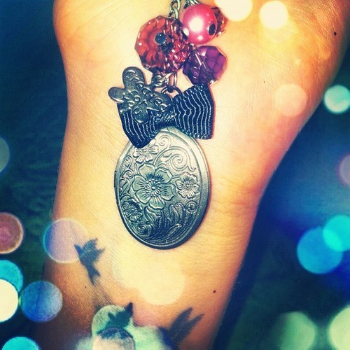 #beautiful #tattoo #bird #free #girly #necklace