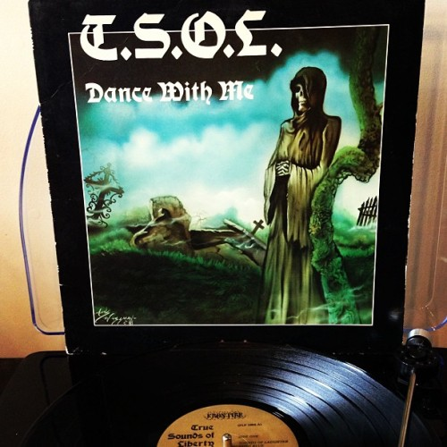 TSOL: Dance With Me          One of the 1st records I ever owned. Although I prefer the Joe Wood(Change Today/Revenge) incarnation of TSOL,Jake Grisham was the original & bit more cerebral/morbid with his lyrics. Spent hundreds of hours at the HalfPipe jamming this early West Coast Punk gem. #OriginalPress #1981 #TSOL #TrueSoundsOfLiberty #FrontierRecords #Vinyl #Punk #SkateRock #Thrasher #CodeBlue #Nowplaying #ThrowBackThursday