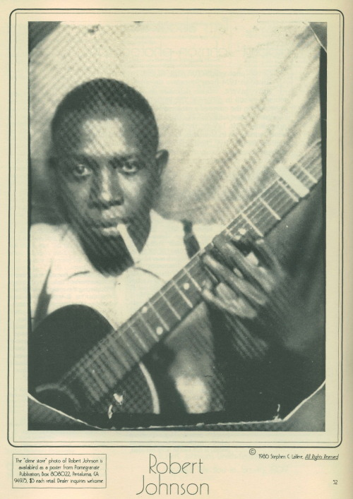 Robert Leroy Johnson (May 8, 1911 – August 16, 1938)