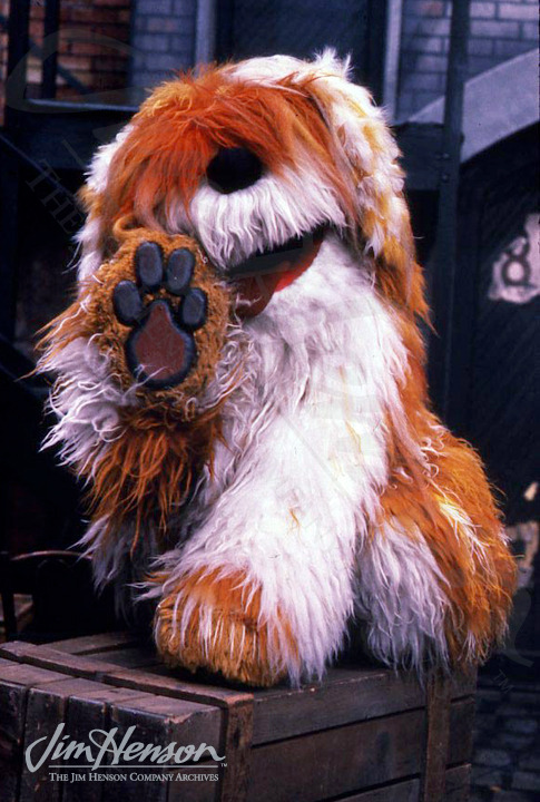 Remember Barkley?  I loved that giant happy doggy.