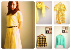 1960's spring. Shop vintage at BAD GRAMMAR