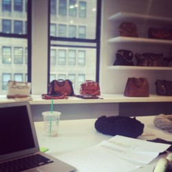 #showroom #accessories #handbags #nyc #werkin #monday