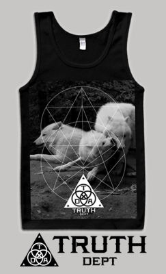 "truthdept:  ""Monochroma Tank Top"" All sizes available and we ship worldwide! Please visit our webstore! http://truthdept.storenvy.com/ And like us on facebook http://www.facebook.com/truthdept Spreading The Truth Since 2009"