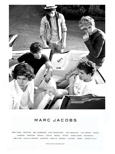 la-vita-di-classe:  la-vita-di-classe:  One Direction for Marc Jacobs  OMG 100 NOTES THANK YOU GUYS AHH