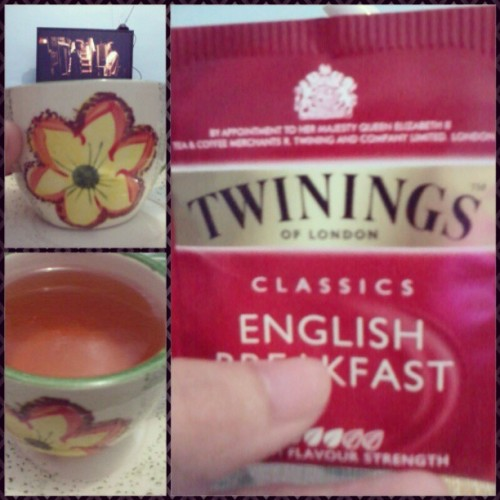 My cup of tea.^^ #blacktea #englishbreakfast #happy #morning