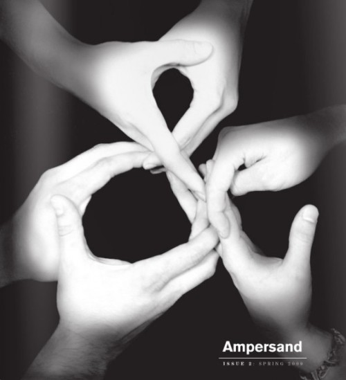 Typeverything.com Ampersand Magazine Issue 2 cover. Produced by the students within the graphic design program at the Kansas City Art Institute.