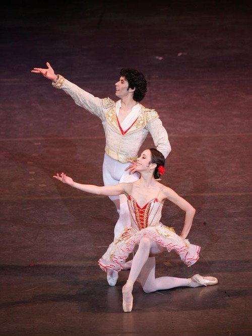Xiomara Reyes and Herman Cornejo in Don Quixote.Photo: Hidemi Seto.