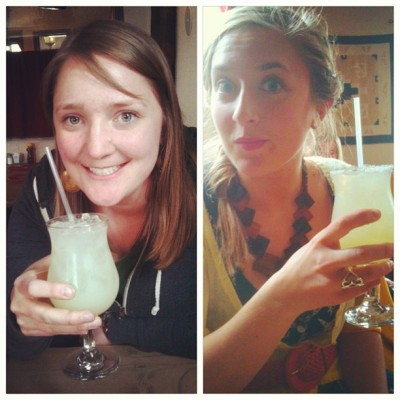 It is #margarita time with @abbominator! #Marias #SantaFe #NewMexico #latergram