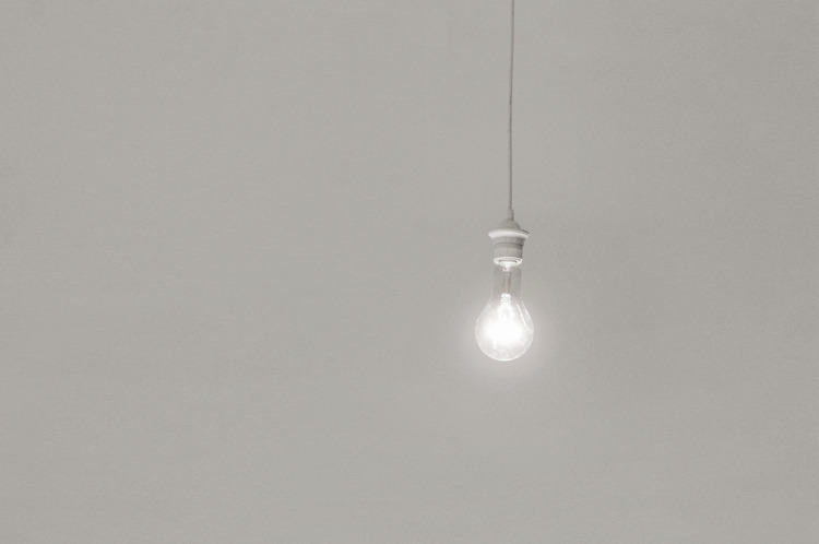Ruben Aubrecht untitled 2012 light bulb, microcontroller  —  It's an adaption of my work untitled (2007) and was produced for the  exhibition Licht (light) at the Sezession Darmstadt, Germany.  A light bulb is hanging from the ceiling and signals endlessly a  message in Morse code, correctly deciphered it reads: Conceptual Art is  Boring.