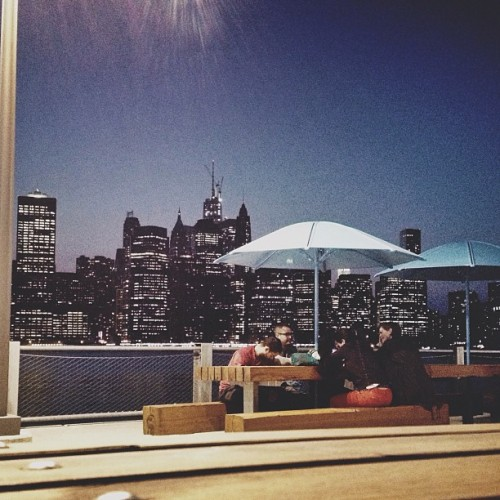 Secret book club. (at Brooklyn Bridge Park - Pier 5)