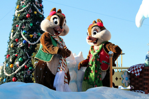 magicaldisneyworld:  Mickey's Once Upon A Christmastime Parade on Flickr.