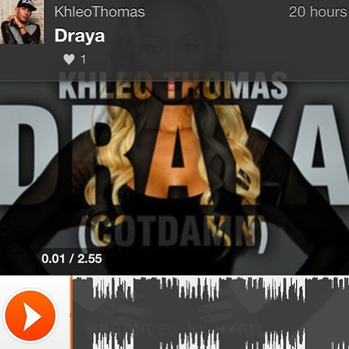 Just dropped it!!! My new song DRAYA! Download it now!!! REMEMBER THIS LINK —> http://bit.ly/OMGDraya <— now put it in your web browser!! Then leave a comment! #slickliving #OmgDraya #Draya @sodraya 😏