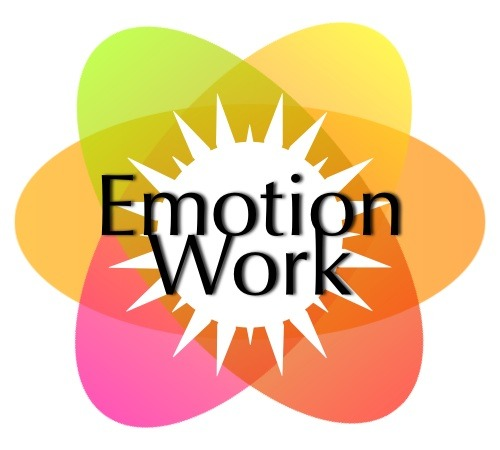 "Uncloaking and Spotlighting Emotion Work (and other types of invisible work)  by C.A. L'Hirondelle Dec.23 2012 Because many people respond to the idea of a universal livable income* by saying ""but people won't work!"", it may be important to talk about different aspects of human activities and whether we regard them as having value and whether we need to convey their value by labelling them as work. *(aka basic income, citizen's income, guaranteed livable income, guaranteed annual income) One type of work that is almost invisible because it is so dominated and eclipsed by the mythology of 'hard work' is 'emotion work' (or 'emotional labour'). This examination of emotion work waw prompted by a twitter discussion with (KV) who recently had the intense experience of providing care to an elderly woman with a terminal illness.  KV writes: "" 'Hard work' (manual work, but medicine or gardening too) where the work consists in utilizing stuff to produce stuff by means of body motions, inherits the glamour / gravitas of body. 'Hard work' can be theoretical work too, labour involving mind, expertise (the scientist), but is often ridiculed as nerdie, out-of-touch-w/-reality. Without the body involved, the 'hard work' seems invisible & thus not that real. But as it has consequences in the world, it counts as real."" For a funny example of 'hard thinking work', see clip (start 0.30) from Big Bang Theory. Consider these types of activities and how they are regarded (or not) as work: Caring for our young. If this work didn't happen there would be no humans. How well it gets done and the priority it is given by society (how many resources are devoted to it) also determines the future well-being (or not) of our society.  Caring for others. This takes many forms, both paid and unpaid. But in general because this work is predominantly done for free as part of the non-waged economy (by kin and community), there is often difficulty to demonstrate its value (e.g. the low pay of day care workers) because 'value' today is measured by monetary exchange. ""Did you get paid for that?"" is often the yardstick used to determine the value of particular activities. (Note: Because of the joy that the arts provide to many people, artists should be seen as 'caring for others', as should activists, volunteers and environmentalists.) Service sector work:  Many service jobs require emotion work. For example, servers in restaurants are expected to smile and be cheerful regardless of their actual emotional state - priority must be given to the customer's happiness. This is not to say people are never genuinely happy at their jobs; but emotional states are not set in stone, so if one's emotional state is troubled, it takes emotion work to put that aside and convincingly act the part of the cheerful servant. Tendering Work: Defined by KV as ""the type of caregiving labour that is mostly non-manual. The manual part of this work is a vehicle to provide and exchange attention, appreciation, respect, love — all those things on the soul level that nourish us."" KV: The quality of the care depends on the quality of the relation between caregiver and care -receiver. Often this relation entails mutuality: thanking, smiles and stories are given in return for decent and kind tendering work. Tendering work is different from the emotional work of service workers. This is due to a) the length of time that is involved (customer short-term, caregiving long-term); and b) visbility vs. invisbility of the things exchanged. Service workers usually provide 'things' like food or other products in addition to providing a happy experience for the customer. Tendering work involves listening, asking, noticing and the longer the duration of the mutual relation the more invisible the work gets. Sometimes service workers raise the quality of the relationship with the customer to a 'Tendering Work' level (e.g. having longer chats with old customers) so that the merchandise purchased becomes less important than the emotional connection. Care for Self: The work of providing care for one's self can be especially important for both caregivers (or they won't be able to provide good care for others) and for people with visible / invisible health problems or disabilities. For many people with health challenges, trying to stay as well as possible is a full time job. But self-care is rarely recognized as important work.  Neverdone Work: This is work that only becomes visible when it is not done. For example, if someone keeps home and kitchen tidy, no one sees that things have been out of place and put back. This work is repetitive and after the work is done, it looks like  nothing happened. Paid service work can also be in this category. Pregnancy and Birth: This is very physical and visible work but because it is seen as being commonplace, it becomes almost invisible. And in a scarcity model view of the world, a woman giving birth is seen by many as a negative not a positive for society, even though the scarcity model was created for political purposes. Read more on this here. Conclusion: It is artificial to divide human activities into 'work' and 'non-work'. However, this seems the only way to put the spotlight on activities that are both invaluable and invisible. As opposed to 'hard work' they might be called 'soft work' or 'heart work' but likely these mushy 'emotional' terms would do nothing to change how little they are regarded by society. Not when the yardstick for valuing everything is how much cash can be exchanged for it. And the economic theory goes that this is the only way to determine value; however, if all these supposedly non-valuable activities were to stop, the entire economy would also come to a halt because the visible economy relies totally on free or low-paid invisible work to be done first. But as Robley George has pointed out in Socio-Economic Democracy, with a universal livable income, there would be no such thing as unpaid work. We'd then be able to give current artificial definitions about work the boot out the front door. This is the route we humans can take if we wish to end the destructive (and stupid) practice of rewarding and punishing human activity solely through measuring short term profit while ignoring long term consequences to our health, social relationships, our natural environment, and other living creatures. Thoughts and comments welcome. Click on ""Ask me anything"" on top right of this page."
