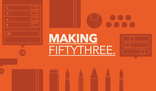 fiftythreenyc:  Introducing Making FiftyThree. At FiftyThree, we build tools for makers. Our first product Paper is used and loved by makers worldwide. We, too, are makers. To that end, we created a new blog to share our side of the story. Making FiftyThree will provide a deeper look into our unique approach to engineering, design, and building a company. We will continue to celebrate the work of our creators on Made With Paper, and you can remain up-to-date on major announcements here on FiftyThree News. FiftyThree is the space to create. Come on in and read our first post, A Closer Look at Zoom.  Crucial addition. So much care and attention to detail goes into the product, and now it's easier to share the process.