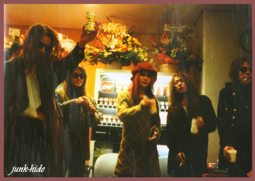 Photo scanned from X-Japan Dahlia tour Pamphlet for hide-junkie )) Glad to be helpful )) Hope it's big enough…