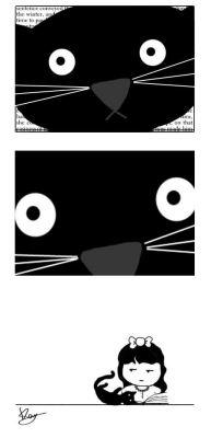 amandaonwriting:How cat owners read.