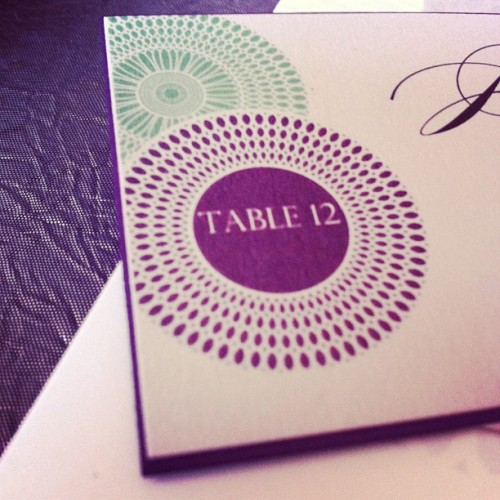 Table 12 at a lovely wedding reception. #Love #Glamour #Style #wedding #weddingreception #ashtongardens #georgia #southernwedding #loveisintheair
