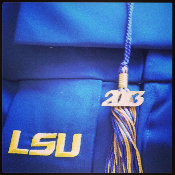 53 days until graduation. #lsu