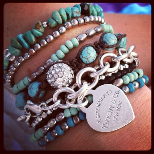 jewelry tiffany tiffany bracelet bracelets pretty gorgeous cute weheartit pinterest glittergoldparadise