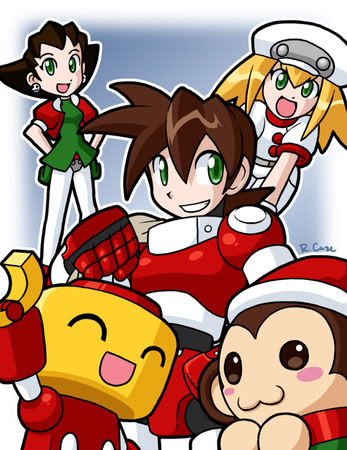 a Legends Xmas by ~rongs1234