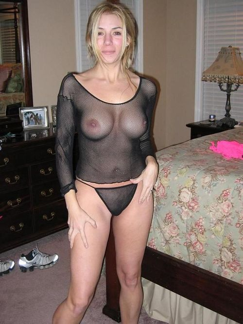 Milf amateur mom see through