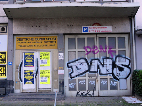 DNS, Denk, 1UP,  Frankfurt am Main, Gallus, 2012