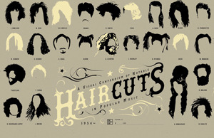 socksonanoctopus:  Notable Hairstyles In Popular Music  Here's a cool infographic poster created by Pop Chart Lab, showing hairstyles in popular music.…  View Post