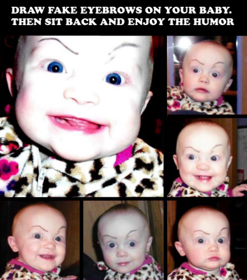 fuckyeahdementia:  portrait of the villain as a baby