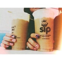 sipping the election day away with @dearmissruth. (at Sip Milk Tea)