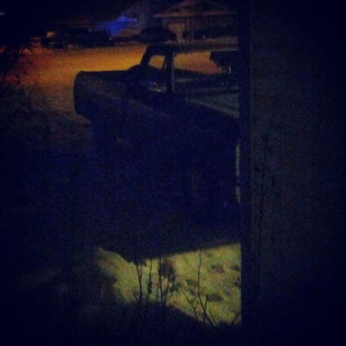 The beast #1985ram #ram #dodge 1985dodge #winter #yukon#sick