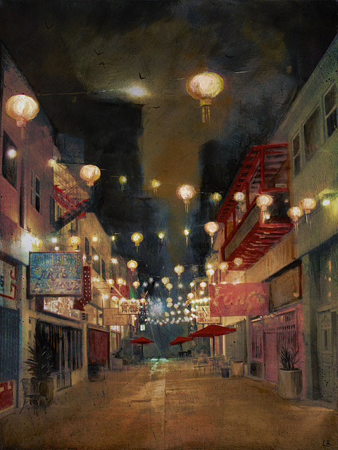Lights On Chung King by Liz Brizzi on Flickr.