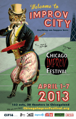 chicago-improv-festival:  Social Share Day for CIF16  Are you coming to this year's Chicago Improv Festival? Please help us create some buzz today by…  View Post  My iO summer intensive team VISIBLY TIGHT gets to be a part of this year's CIF. Friday April 5th @ Bughouse Theater. 10PM