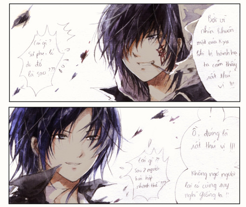 "small part of a abandoned omake =3="" I am too lazy to translate ~"