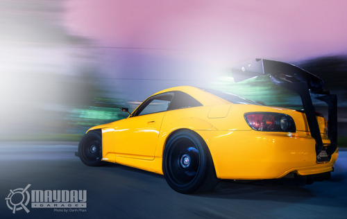 akeikas:  Princeton's Yellow S2K by Danh Phan on Flickr.