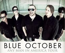"I am listening to Blue October                   ""For Kelli Pre-sale tickets are available now for most of the dates! Meet & greet tickets are also available (please remember that the meet and greet ticket does not include a ticket to the show). http…""                                Check-in to               Blue October on GetGlue.com"