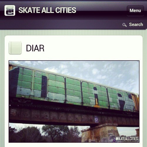 Interview in @SkateAllCities.. Repost from @chasndreams.. Check it out at http://www.skateallcities.com/wordpress/blog/2012/01/features-diar/ #DIAR #BennyDIAR #DEATHCHEATER