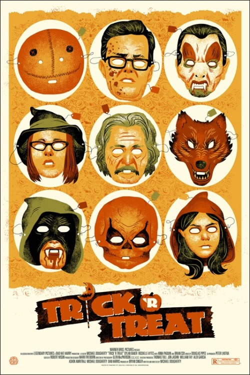 thepostermovement:  Trick R Treat by Justin Erickson