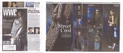 We've got 'Street Cred' according to WWD. Check out our men's Nicholas denim short styled in the Fall 13: Street Cred feature!