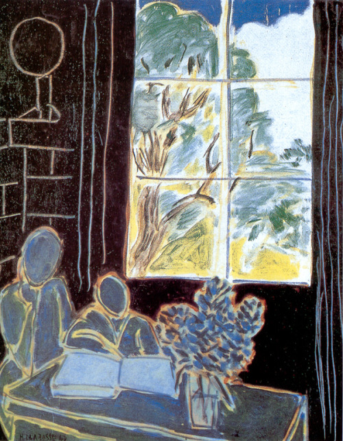 laurensimmortality:  The Silence that Lives in Houses, Henri Matisse 1947