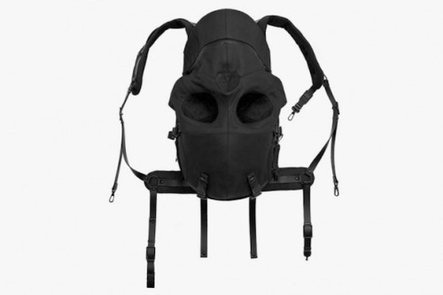 Aitor Throup x Dover Street Market Skull backpack