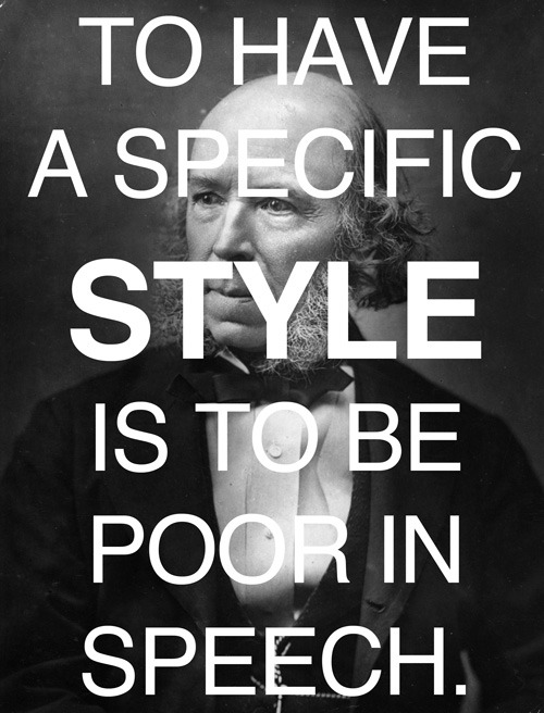 The Philosophy of Style – Herbert Spencer on the economy of attention and the ideal writer, 1852.
