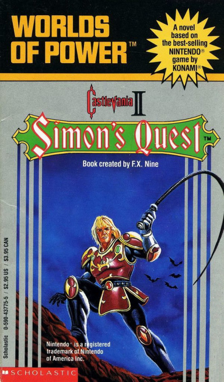 "A novelisation of Castlevania II from the ""Worlds of Power"" series."